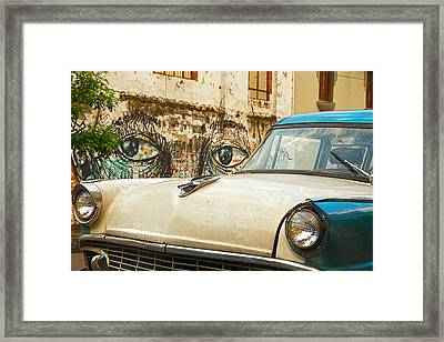 Waiting And Watching Framed Print by Jess Kraft