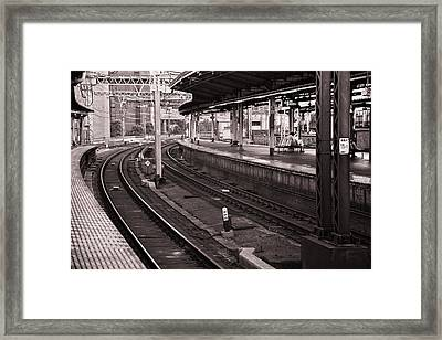 Framed Print featuring the photograph Waiting by Brad Brizek