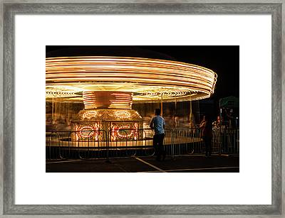 Waiting Framed Print by David Brown Eyes