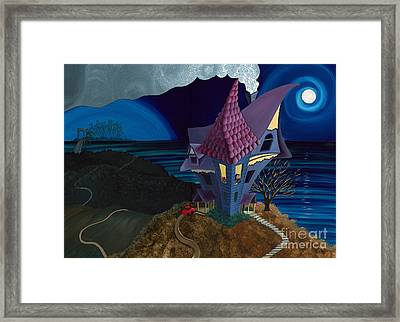 Waiting Framed Print by Denise M Cassano