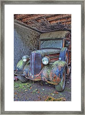 Waiting For A Part Framed Print by Jim Dohms