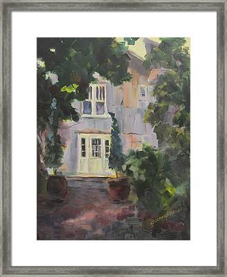 Waiting For An Angel Framed Print by Susan Richardson