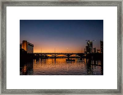 Waiting For Bats Framed Print by Michael Flores