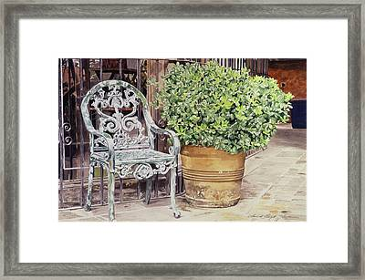 Waiting For Diego Framed Print