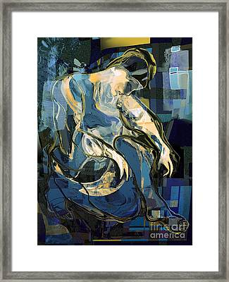 Waiting For Godot Framed Print by Anne Weirich