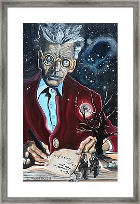 Waiting For Godot- Samuel Beckett Framed Print