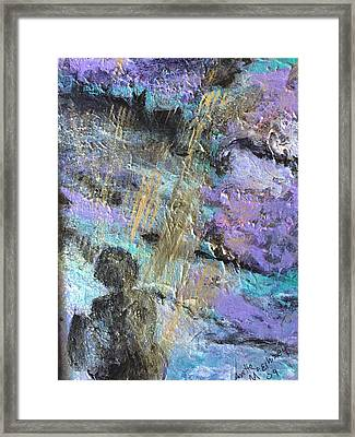 Framed Print featuring the painting Waiting For Hope by Annette McElhiney