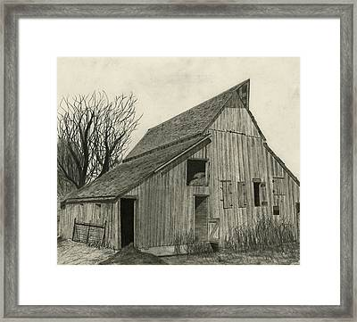 Waiting For Life Framed Print by Bryan Baumeister