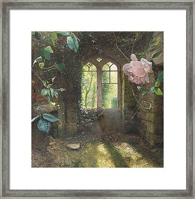 Waiting For Love's First Kiss Framed Print by Helen Parsley