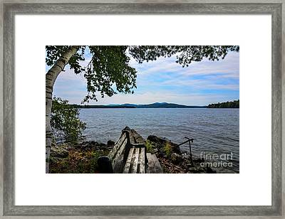 Waiting For Me Framed Print by Mim White
