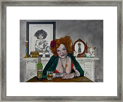 Waiting For Mr. Goodbar Framed Print by TP Dunn