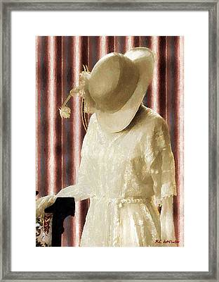 Waiting For Mr. Right Framed Print by RC deWinter