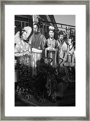 Waiting For My Real Family Framed Print by Jez C Self