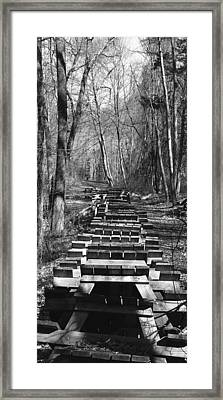Waiting For Orders Framed Print