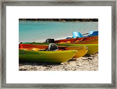 Waiting For Play Framed Print by Lori Mellen-Pagliaro