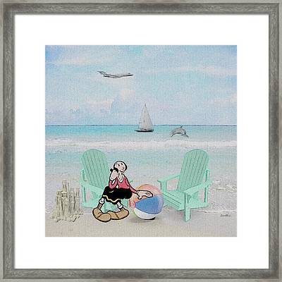 Waiting For Popeye Framed Print