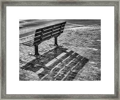 Framed Print featuring the photograph Waiting For Proposal by Richard Bean