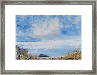 Waiting For Sailor's Return Framed Print
