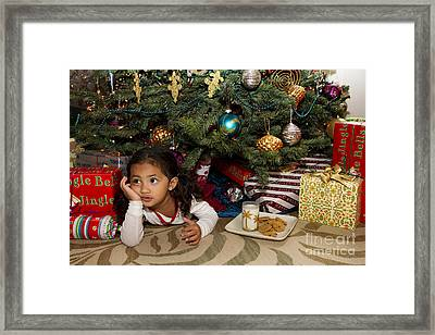 Waiting For Santa Framed Print by Sri Maiava Rusden - Printscapes