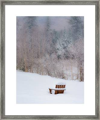 Waiting For Spring Framed Print by Joseph Smith