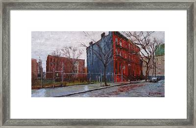 Waiting For Spring No. 2 Framed Print by Peter Salwen