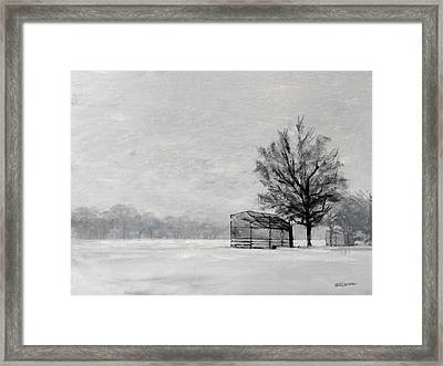 Waiting For Spring Framed Print by Peter Salwen