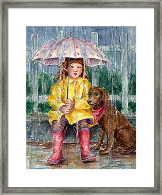 Waiting For Sunshine Framed Print