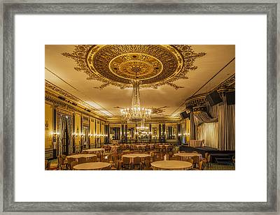 Waiting For The Banquet Framed Print