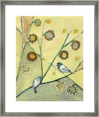 Waiting For The Dance Of Spring Framed Print