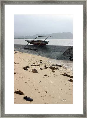 Waiting For The Fish 4 Framed Print by Jez C Self