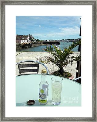 Waiting For The Flushing Ferry Framed Print by Terri Waters