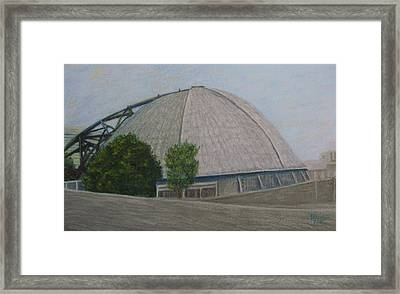 Waiting For The Next Event Mellon Arena Pittsburgh Framed Print by Joann Renner