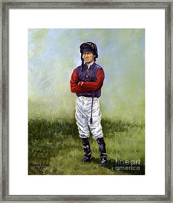 Waiting For The Queen Framed Print by Thomas Allen Pauly