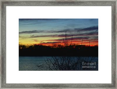 Waiting For The Sun Framed Print by Robyn King