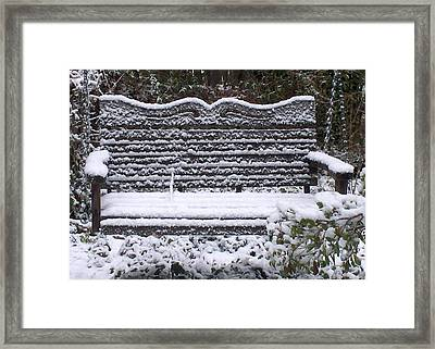 Waiting For The Thaw Framed Print by Jeanette Stewart