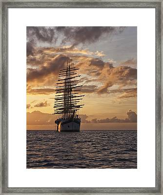Waiting For Us Framed Print by Jon Glaser