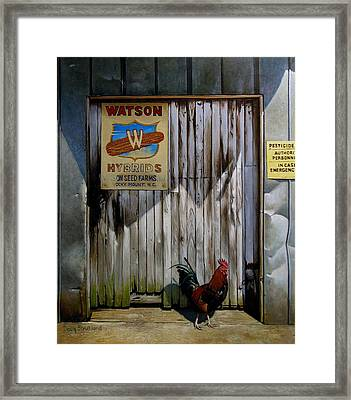 Waiting For Watson 2 Framed Print by Doug Strickland