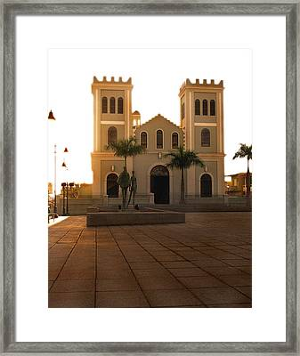 Waiting For You Framed Print by Roger Conatser
