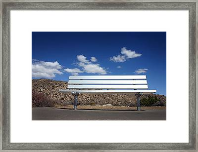Waiting For You Framed Print by Wendy Maybury