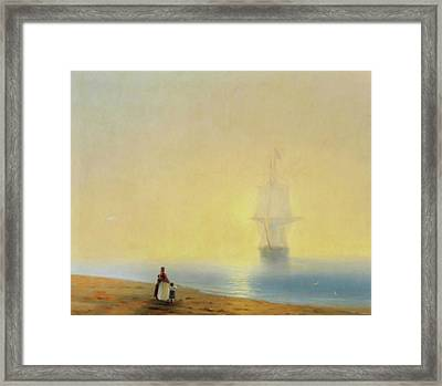 Waiting For Your Return Framed Print