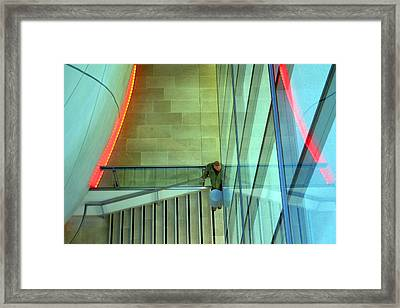 Waiting Here For You Framed Print by Jez C Self