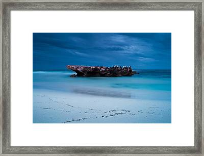 Waiting In Silence Framed Print by Heather Thorning