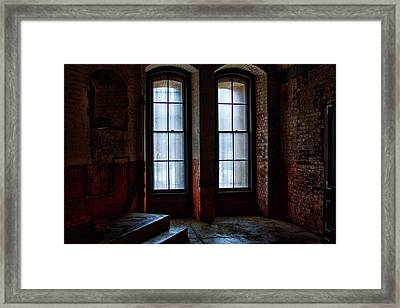 Waiting Inside Framed Print