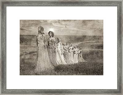 She's A 21st Century Fox Framed Print by Betsy Knapp