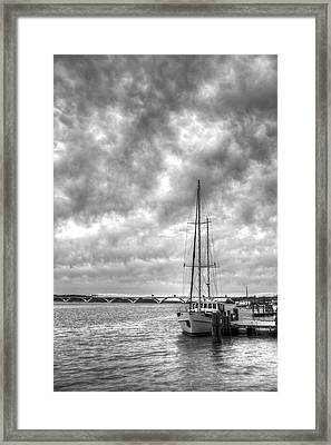Waiting Framed Print by JC Findley