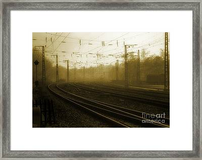 Waiting Framed Print by Jeff Breiman