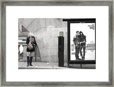 Waiting Framed Print by Jez C Self