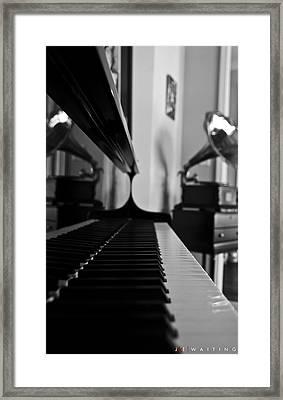 Waiting Framed Print by Jonathan Ellis Keys