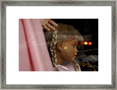 Waiting Just For You And Your Kids Framed Print by Jez C Self
