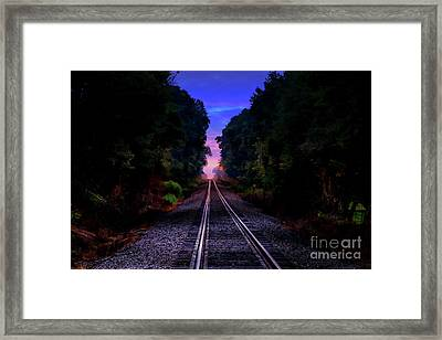 Waiting On A Woman Framed Print